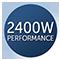Moc 2400 W